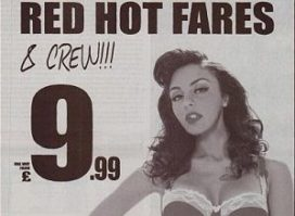 Britse stewardess is geen pin-up