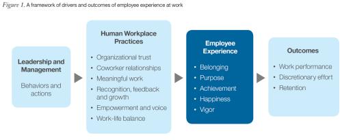 Framework employee experience positief beïnvloeden