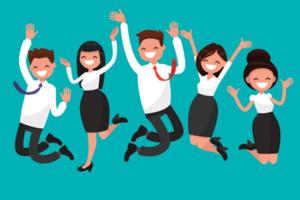 5 factoren van een happy workplace
