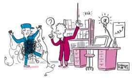 Leiders vinden in een technische omgeving?