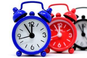 AVG: de klok tikt