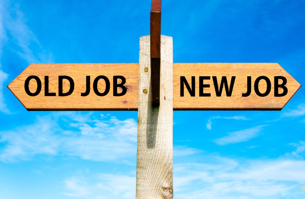 Een succesvol outplacementtraject leidt tot een nieuwe baan