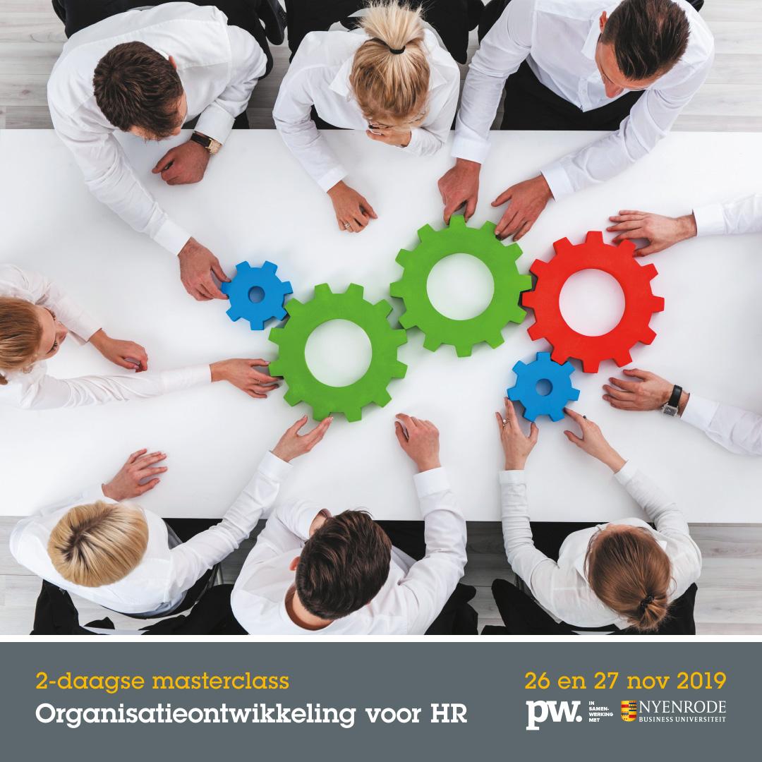 Masterclass Organisatie-ontwikkeling voor HR
