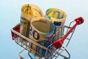 Koopkracht stijgt met gemiddeld 2,1 procent